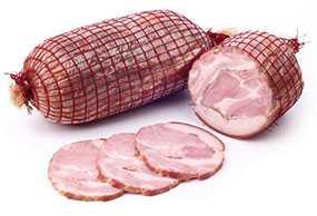 Продукт из свинины копчено-вареный Кармашек Мясной Люкс - Брестский мясокомбинат
