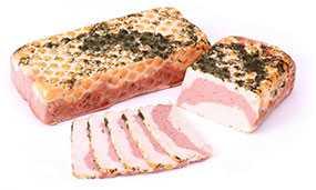 Продукт из мяса птицы копчено-вареный Рулет Ассорти - Брестский мясокомбинат