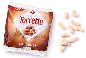 Фаршированная паста TORRETTE с мясом и грибами - Брестский мясокомбинат