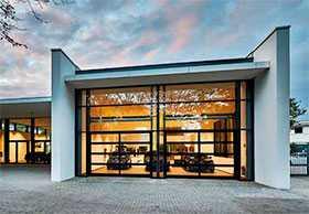 Ворота алюминиевые с остеклением крупногабаритные ALR 67 Thermo Glazing - Hörmann