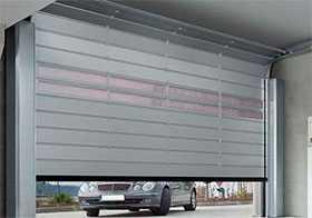 Ворота промышленные секционные Speed HS 5015 PU N 42 с изоляционными панелями из полиуретана - Hörmann