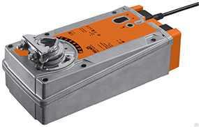 Электропривод для воздушных заслонок с пружинным возвратом EF24A - BELIMO Automation
