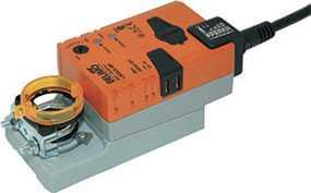 Электропривод для воздушных заслонок без пружинного возврата LM24A - BELIMO Automation