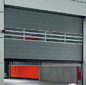 Ворота промышленные секционные Speed HS 6015 PU V 42 с изоляционными панелями из полиуретана - Hörmann