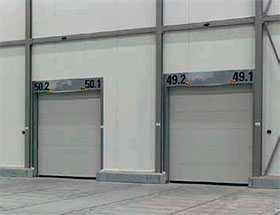 Ворота промышленные секционные Speed HS 5015 Acoustic H - Hörmann