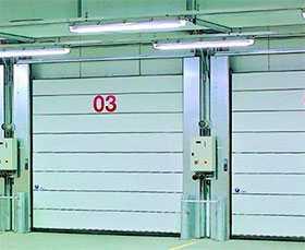 Ворота промышленные секционные Iso Speed Cold H 100 - Hörmann