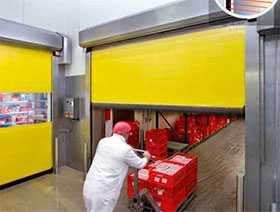 Ворота промышленные секционные Iso Speed Cold V 100 - Hörmann