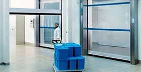 Ворота внутренние для специальных областей применения V 2515 Food L - Hörmann