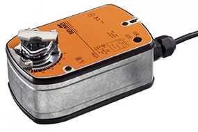 Электропривод для воздушных заслонок с пружинным возвратом LF24-MF - BELIMO Automation