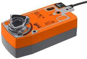 Электропривод для воздушных заслонок с пружинным возвратом SF230A - BELIMO Automation