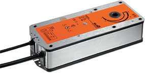 Электропривод для клапанов дымоудаления с возвратной пружиной BFG24 - BELIMO Automation