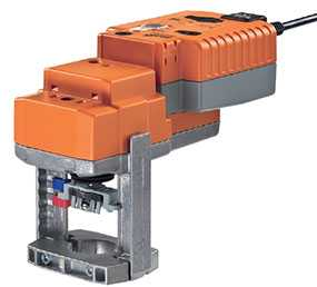 Электропривод для установки на седельный клапан со встроенным конденсатором NVKC24A-SR-TPC - BELIMO Automation