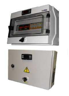Шкаф управления для 3-4 воздухоохладителей (1 канал управления вентиляторов) серия ЕВ - РефЮнитс