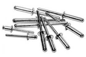 Заклепка алюминий/сталь, d 2,4 мм