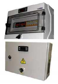 Шкаф управления холодильной системой силовой для выносного контролера EWCR 500, серия ЕС - РефЮнитс