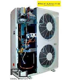 Агрегат холодильный малошумящий цифровой среднетемпературный AKM-D.N10-0088-1xZRD72K-K45 - РефЮнитс
