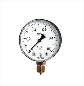 Манометр МП100М5 - ООО Завод теплотехнических приборов