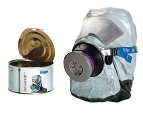 Самоспасатель фильтр фильтрующий для промышленных площадок Drager (Дрегер) DefendAir - Dräger