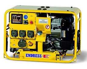 Электростанция (генератор) портативная ESE 804 DBG DIN для служб МЧС - ENDRESS