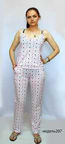 Комплект женский, модель 207 - Линберти