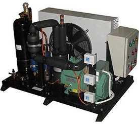 Агрегат холодильный однокомпрессорный среднетемпературный AK.N10-0202-1x4TES12-K45 - РефЮнитс