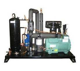 Агрегат холодильный однокомпрессорный среднетемпературный AP.N10-0081-1x2CES4-K45 - РефЮнитс