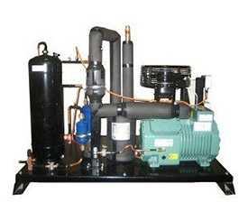 Агрегат холодильный однокомпрессорный среднетемпературный AP.N10-0034-1x2GES2-K45 - РефЮнитс
