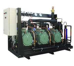Агрегат холодильный многокомпрессорный среднетемпературный AM.N10-0184-2х4FES5-K45 - РефЮнитс