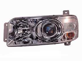 Блок-фара с дневным ходовым огнем левая МАЗ-447131, 5440 Н/О ЕВРО-3 112.10.30.3711