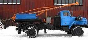 Бурильно-крановая машина поворотная ПБКМ-511