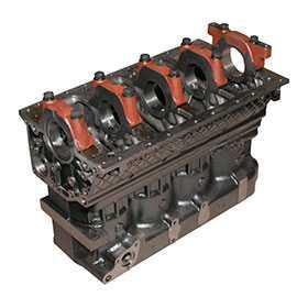 Блок цилиндров двигателя Д245 ММЗ 245-1002001-05