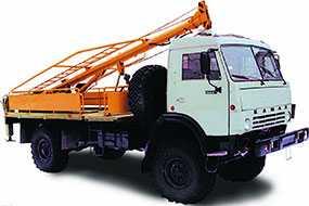 Бурильно-крановая машина БКМ-516