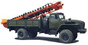 Машина бурильная шнековая МБШ-519