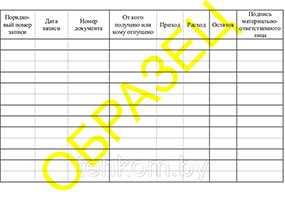 Бланки Карточка складского учета строительных материалов - Техком ЧУТП