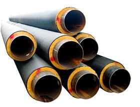 Труба стальная в ППУ изоляции, d 89/160 мм - Сарматия-Норд