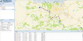 Программное обеспечение (ПО) для спутникового мониторинга транспорта Fort Monitor (Форт Монитор) - Fort Telecom