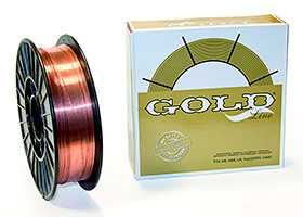 Проволока самозащитная порошковая GOLD E71T11 ф 0,8 мм D100 (0,45кг)