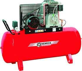 Компрессор поршневой маслозаполненный 5,5 кВт, СБ4/С-100.АВ858, серия Fiac - Remeza
