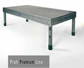 Сварочный стол 3D Profi Premium Line Demmeler, 1000х1000x850 мм, с 4-мя стандартными опорами - Demmeler