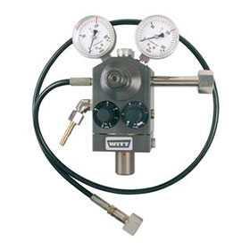 Газосмеситель WITT BM-2M однопостовой для 2-х газов до 111 норм.л/мин - WITT
