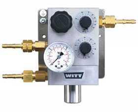 Газосмеситель WITT MM-FLEX для 2-х определённых газов до 216 норм.л/мин - WITT