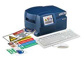 Принтер этикеток BRADY GlobalMark Color & Cut (English) 220V, артикул gws250365 - BRADY