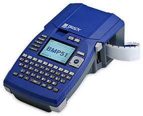 Принтер этикеток BRADY BMP51 с английской клавиатурой, артикул brd710896 - BRADY