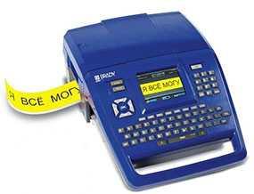 Принтер BRADY BMP71, русско-английская клавиатура, артикул brd710638 - BRADY