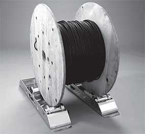 Размотчик барабанов с кабелем до 1500 кг, диаметром до 1400 мм UNIROLLER 800, артикул rol90105 - UNIROLLER