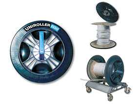 Накладки на боковины катушек с кабелем UNIROLLER 600, артикул rol90501 - UNIROLLER