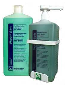 Лосьон-мыло Васа-софт, бутылка 1 литр - LYSOFORM