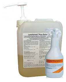 Средство для дезинфекции и очистки изделий медицинского назначения Лизоформин плюс пена, канистра 5 литров - LYSOFORM