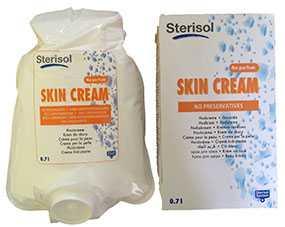 Крем для рук Стеризол, пластиковый пакет (одноразового использования) с клапаном 0,7 л - Sterisol