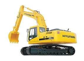 Экскаватор гусеничный Hyundai R290LC-7A - Hyundai Motor Company